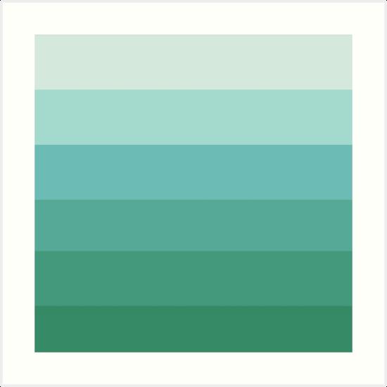 Seafoamin  Ombre - Color Fade 5a05a48845