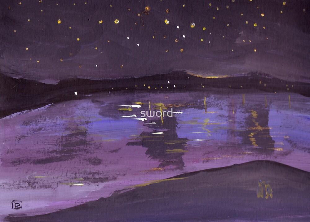 Starry Night by sword