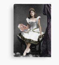 Vaudeville performer Canvas Print