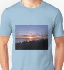 Sunsets are proof that endings can often be beautiful too. Unisex T-Shirt
