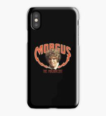 MORGUS: THE MAGNIFICENT iPhone Case/Skin