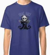 Death cute mascot sombre reaper tomb skull creepy dead face skeleton  Classic T-Shirt