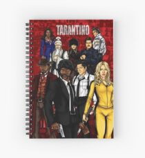 Tarantino Spiral Notebook