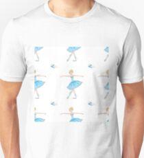 Cute and beauty Ballet dancer Unisex T-Shirt