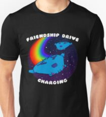 Friendship Drive Charging Unisex T-Shirt
