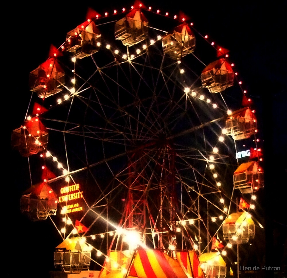 Ferris Wheel by Ben de Putron
