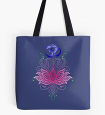 Lotus-Om Tote Bag