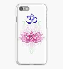 Lotus-Om iPhone Case/Skin