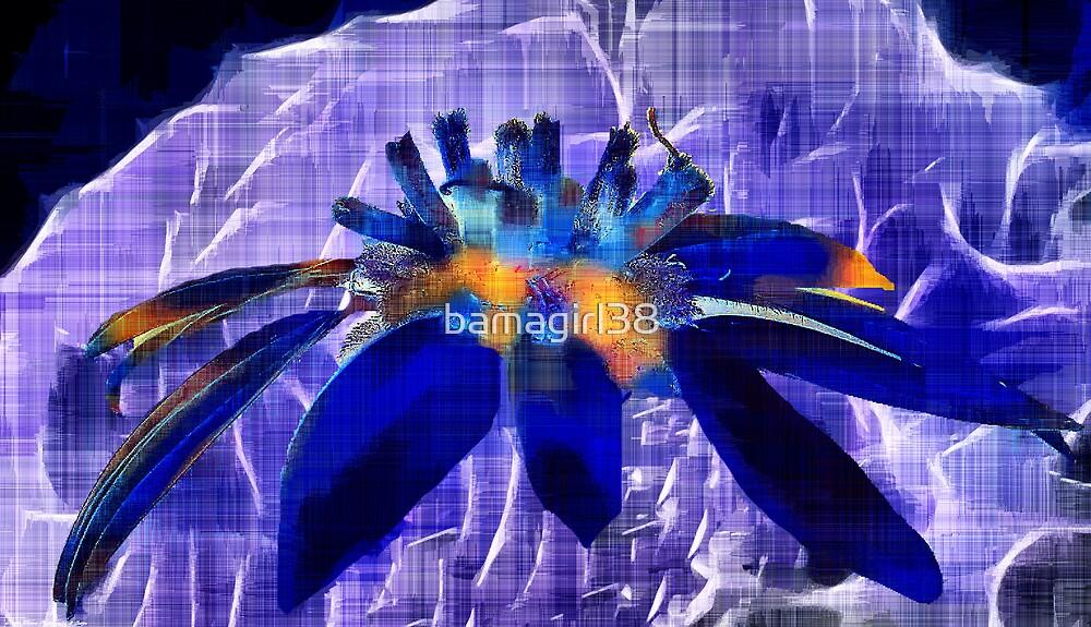 Blue Floral Dream 1 by bamagirl38