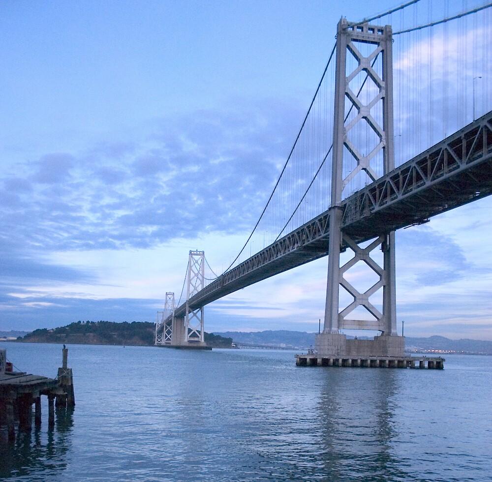 Bay Bridge San Francisco by Phillip S. Vullo Jr.