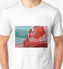 Detail of shining red car hood Unisex T-Shirt