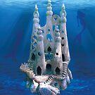 Mermaid Atlantis by lizart-designs