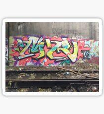 MR Graffiti in Chicago Sticker