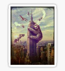 Faultier Kong Sticker