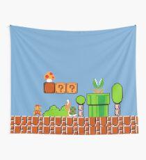 Super Mario Bros Wall Tapestry