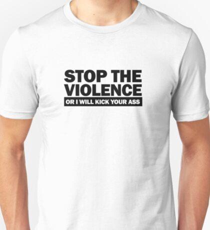 Stop the Violence... (black print) T-Shirt
