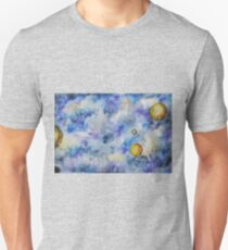 Watercolor background - space Unisex T-Shirt