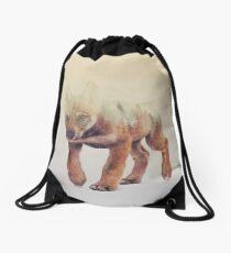Little Ones: Wolf Drawstring Bag