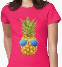 Cool Pineapple  Womens Fitted T-Shirt