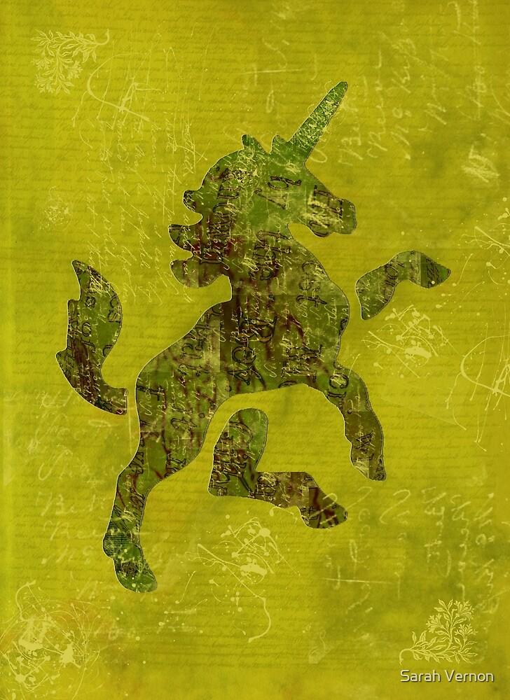 Unicorn Fresco by Sarah Vernon