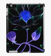 Floral - Dark Psychedelic Lotus Flower iPad Case/Skin
