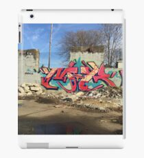 Tropical Graffiti in Memphis iPad Case/Skin