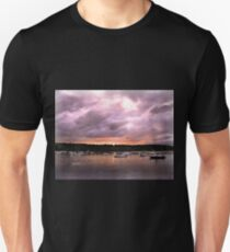 There are magical moments in every day.  We just have to take the time to see them. Unisex T-Shirt