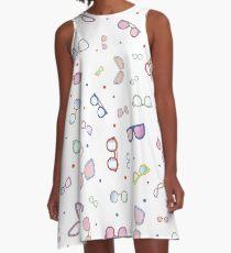 Shades Of Summer A-Line Dress