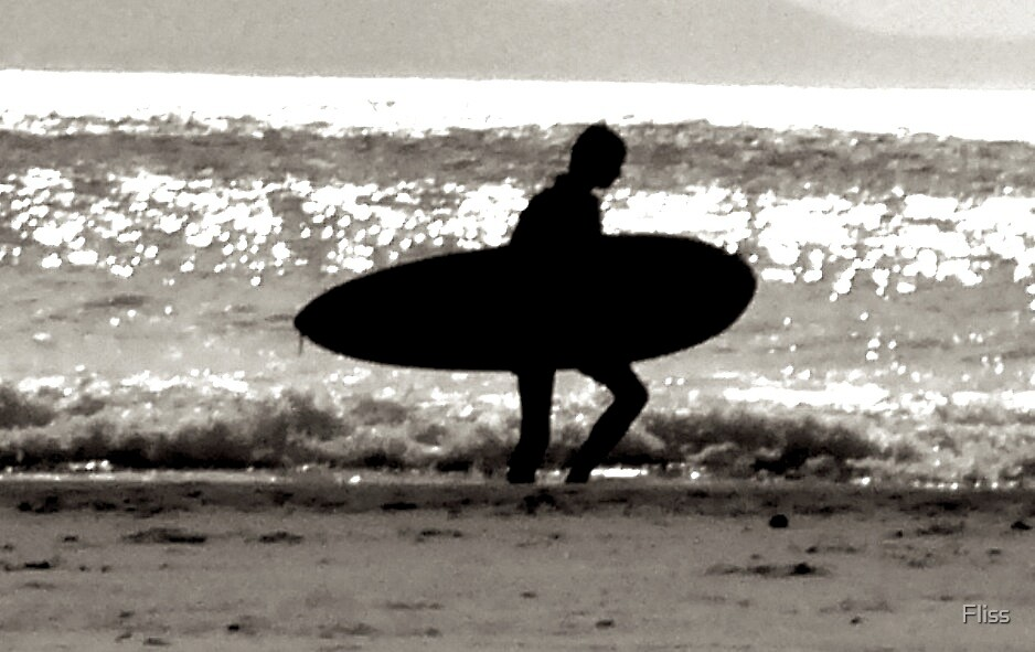 holy surfing by Fliss