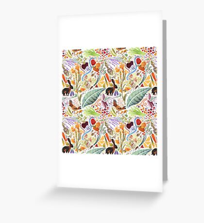 Vegetable Garden Party Greeting Card