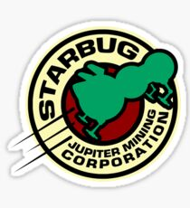 Jupiter Mining Corporation Logo Sticker