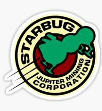Jupiter Mining Corporation Logo Sticker