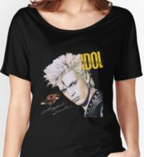 BILLY IDOL neurotic outsiders chelsea 4 Women's Relaxed Fit T-Shirt