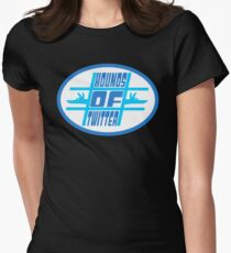 Hounds of Twitter Women's Fitted T-Shirt