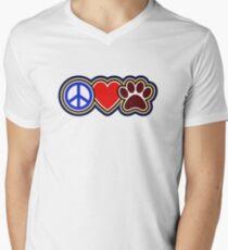Dogs Men's V-Neck T-Shirt