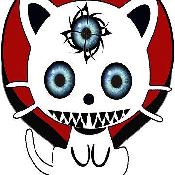 The three eye cat by hattart
