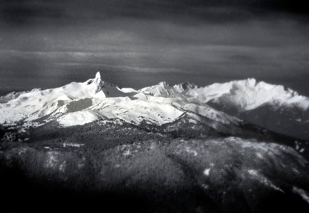The Black Tusk, Whistler by Craig Mitchell