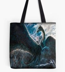 Saphira The Dragon From The Hit Eragon Movie Tote Bag