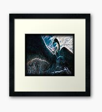 Saphira The Dragon From The Hit Eragon Movie Framed Print