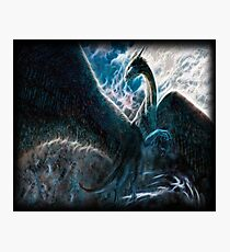 Saphira The Dragon From The Hit Eragon Movie Photographic Print