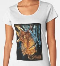 Draco The Dragon From The Hit Dragonheart Movie Women's Premium T-Shirt