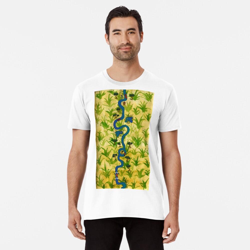 Canal Journey Premium T-Shirt
