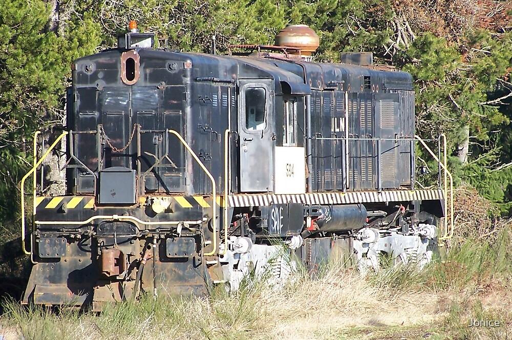 Forgotten Train by Jonice