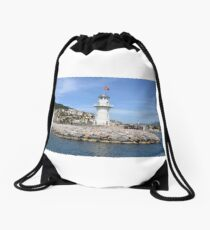 Lighthouse Drawstring Bag