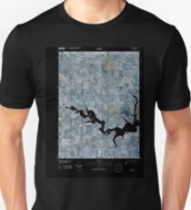 USGS TOPO Map Iowa IA Russell 20100429 TM Inverted Unisex T-Shirt