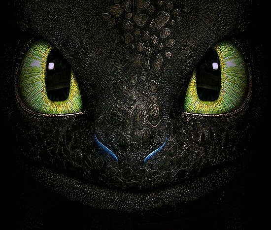 Big Toothless From How To Train Your Dragon by LuckDragonGifts