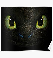 Big Toothless From How To Train Your Dragon Poster