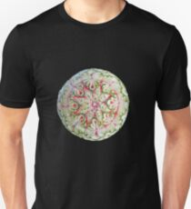 Watermelon Mandala - Hand Carved by Gitta, artist, Melon as Anything - Byron Bay Unisex T-Shirt