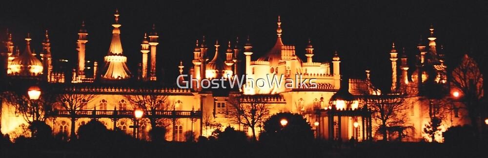 Brighton Palace by GhostWhoWalks