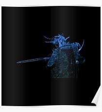 Final Fantasy I logo universe Poster
